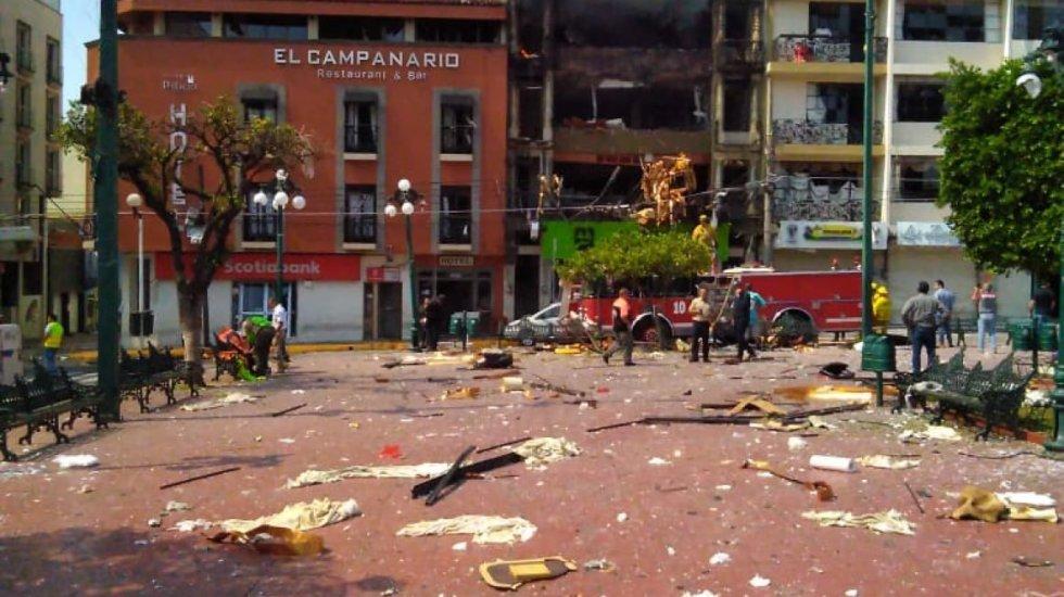 Mueren cuatro personas por explosión en edificio en Jalisco - explosión edificio jalisco