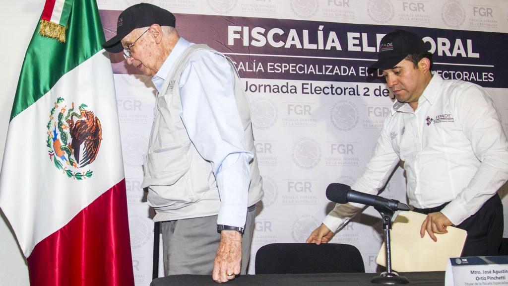 Fepade ha recibido 35 denuncias por posibles delitos electorales - Fepade denuncias elecciones