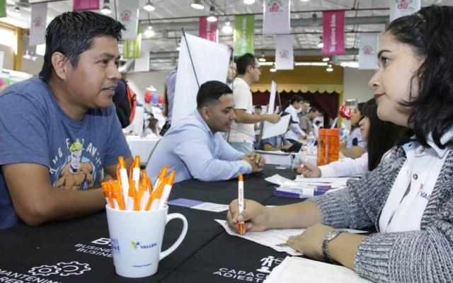 Baja tasa de desocupación en México - Feria del Empleo para Jóvenes en Tampico. Foto de Notimex