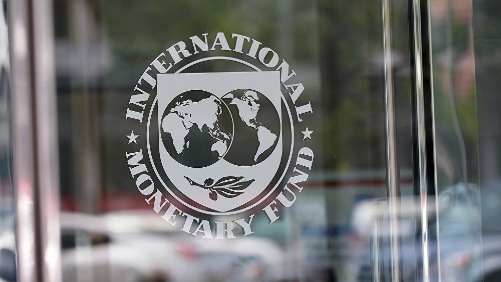 FMI llama a EE.UU. a ratificar el T-MEC en pro de la economía mundial - Fondo Monetario Internacional (FMI). Foto de AFP / Mandel Ngan