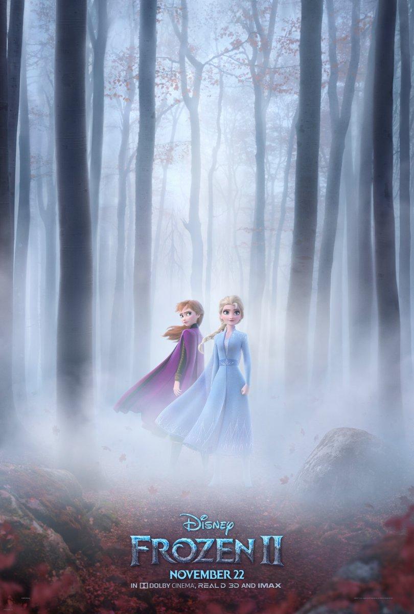 Póster de Frozen 2. Foto de @Disney