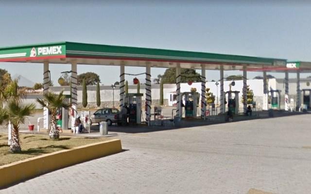 Encuentran la gasolinera que más 'roba' en México - Gasolinera que más roba en Puebla. Foto de Google Mas