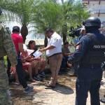 Guardia Nacional ya vigila frontera sur en Tabasco - Se dio prioridad a Chiapas en el despliegue de la Guardia Nacional por tener más frontera con Guatemala. Foto de @GabyCoutino