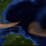 Polvo del Sahara comienza a llegar a la Península de Yucatán