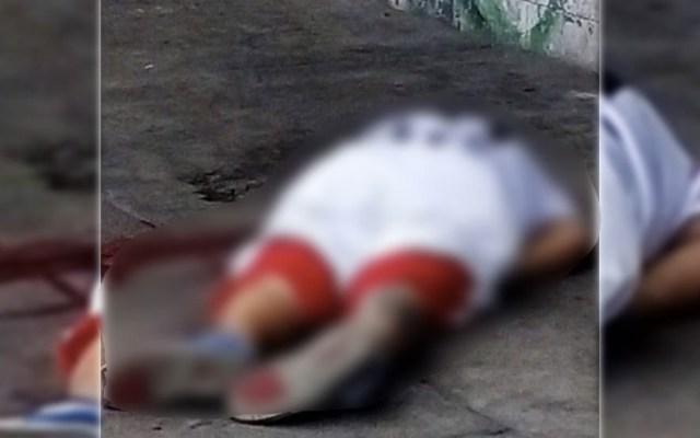 Asesinan a balazos a hombre en Ecatepec - Homicidio hombre ecatepec Jardines de Morelos