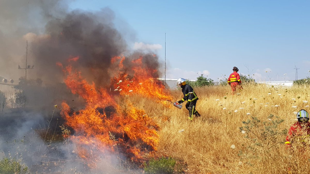 incendio descontrolado españa