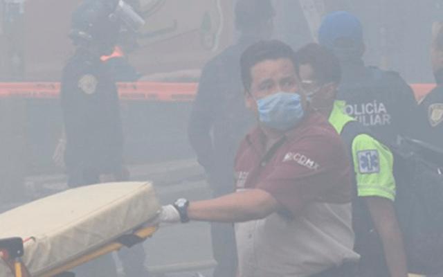 Muere hombre de la tercera edad por incendio en su casa en Santa María la Ribera - Foto de Quadratín