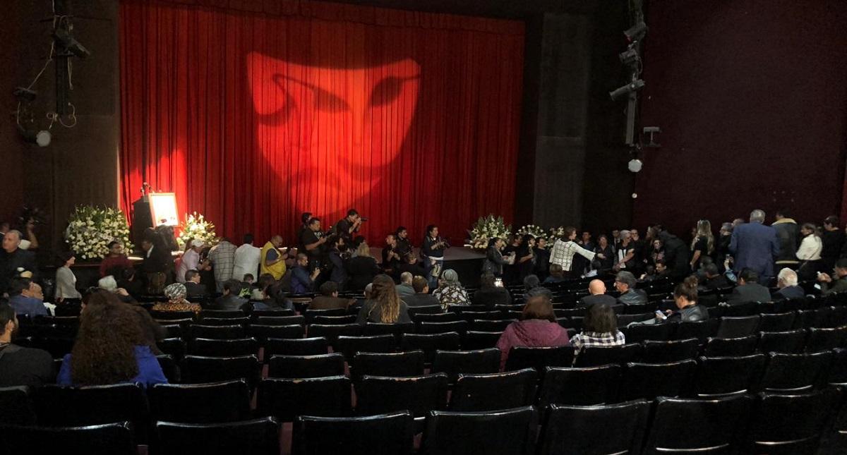 Interior del Teatro para homenaje de 'La güera'. Foto de LDD