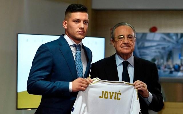 Real Madrid presenta a Luka Jović - Real Madrid presenta a Luka Jović
