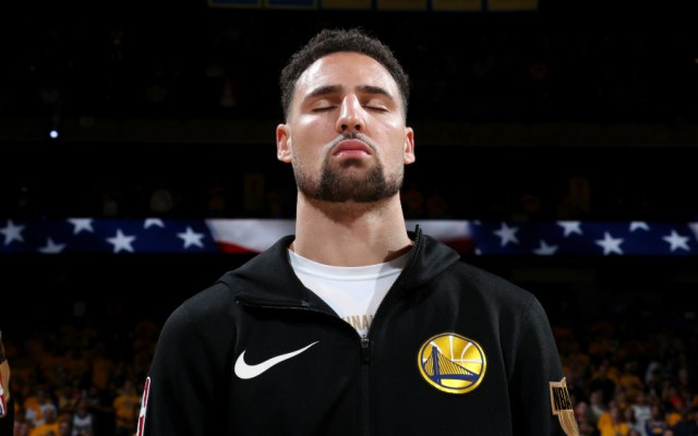 Warriors recuperan a Thompson y Looney para cuarto juego de la final de la NBA - Foto de AFP