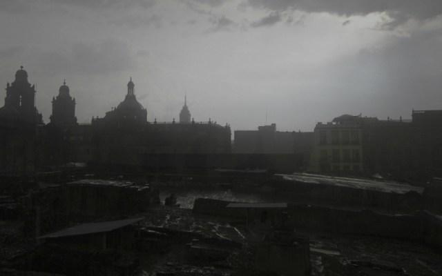 Afectaciones por lluvia en la Ciudad de México - Foto de Notimex