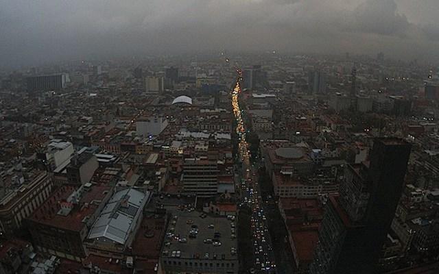 Activan alerta naranja por lluvias en la Ciudad de México - Foto de Webcams de México