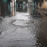 Lluvias provocan afectaciones en el oriente de la Ciudad de México - Foto de @ElBigDataMX
