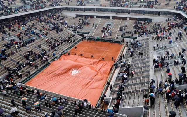 Lluvia vuelve a interrumpir semifinal Djokovic vs Thiem - lluvia semifinal roland garros