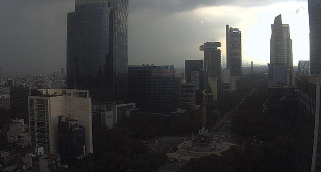 Alerta naranja por lluvias en la Ciudad de México. Noticias en tiempo real