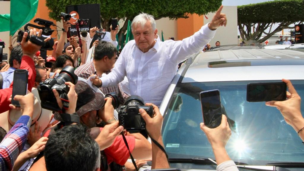 Presidencia debe informar sobre los vehículos que utiliza López Obrador para sus traslados - Andrés Manuel López Obrador. Foto de Notimex-Javier Lira.