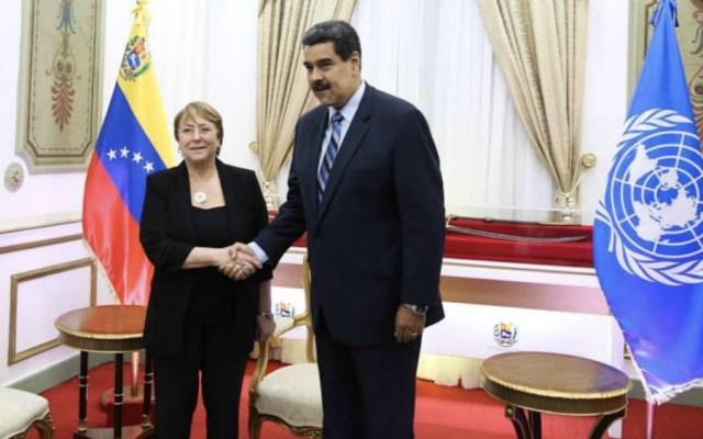 """Maduro dice que asumirá con """"seriedad"""" recomendaciones de Bachelet - Foto de @NicolasMaduro"""