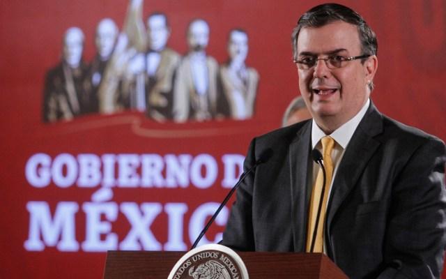 """""""Aquí no hay supersecretarios, todos somos iguales"""": Marcelo Ebrard - Marcelo Ebrard. Foto de Notimex."""