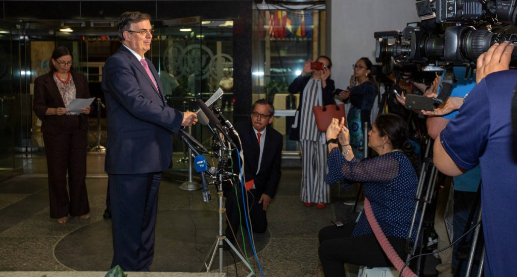 Ebrard agradece participación de Pompeo en negociación con EE.UU. - Pompeo Marcelo Ebrard Estados Unidos