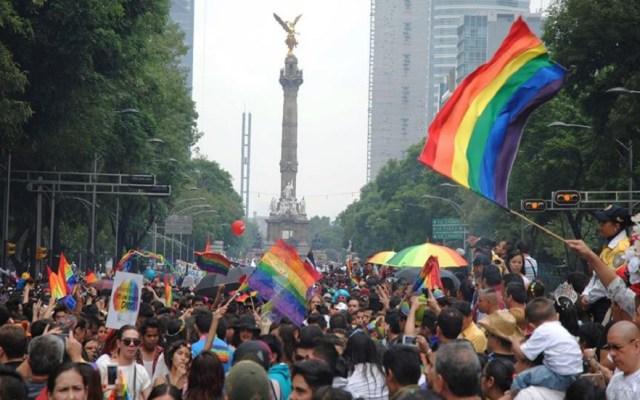 Marcha del orgullo gay de la CDMX tiene su origen en Nueva York - Marcha del orgullo gay en la CDMX. Foto de @MarchaLGBTCDMX