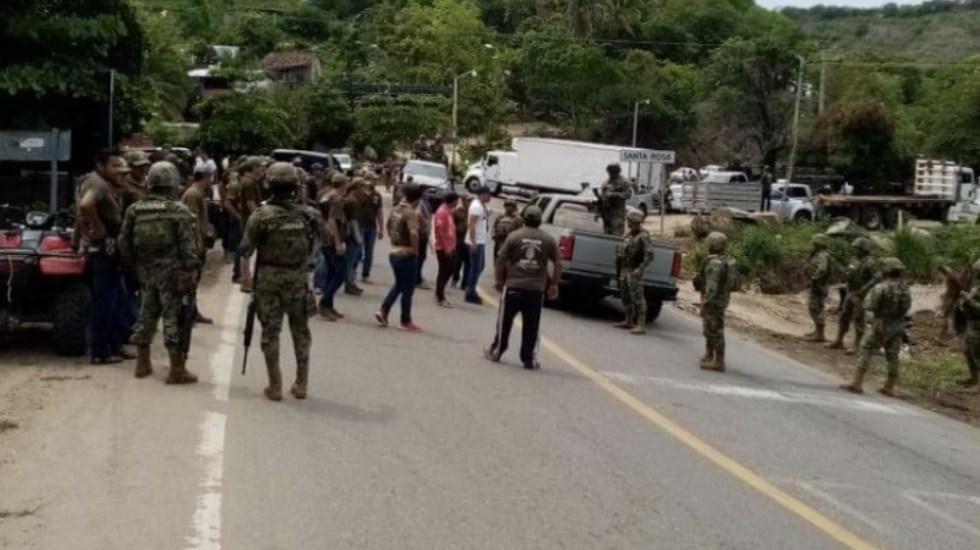 Liberan a marinos que estaban retenidos en Guerrero - Foto de @sethrojasmolina