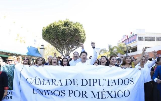 Niega Mario Delgado existencia de otro acuerdo con EE.UU. - Foto de @mario_delgado