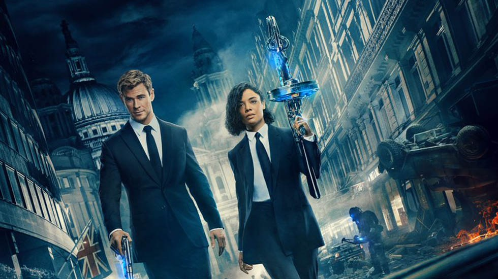 'Men in Black' lidera taquilla pese a críticas que no le favorecen - Póster de Men in Black: International. Foto de Sony Pictures