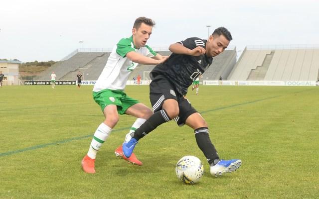 México e Irlanda no se hacen daño en Torneo Maurice Revello - Foto de Mexsport