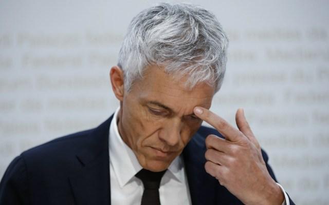 Fiscal general suizo es apartado de investigación por escándalo de la FIFA - Michael Lauber, fiscal suizo. Foto de AFP