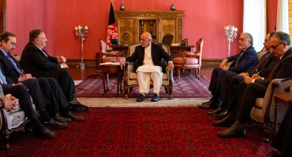 Pompeo llega por sorpresa a Afganistán para reunirse con Ashraf Ghani. Noticias en tiempo real