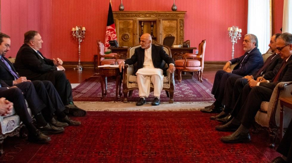 Pompeo llega por sorpresa a Afganistán para reunirse con Ashraf Ghani - Mike Pompeo