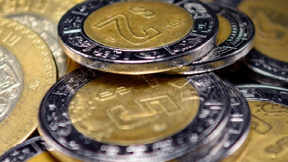 BBVA México estima contracción económica del 10 por ciento - Monedas mexicanas. Foto de @BanxicoOficial