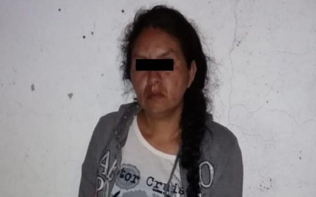 Detienen a mujer que robó a bebé en registro civil de Naucalpan - Mujer que habría robado a bebé en Naucalpan. Foto de @FiscalEdomex