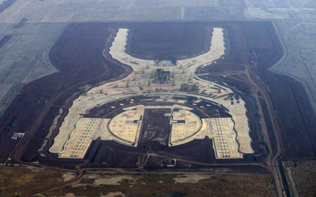 Concluyó liquidación de contratos de empresas del NAIM: AMLO - NAIM Texcoco Aeropuerto obra