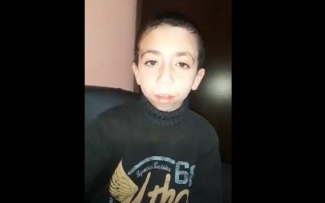 #Video Niño pide ayuda para recuperar teléfono con fotos de su madre - niño celular perdido argentina