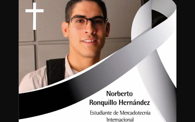 Universidad del Pedregal decreta luto tras muerte de Norberto Ronquillo - Foto de facebook.com/udelpedregal.