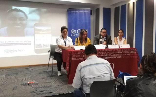 Presentan app para facilitar migración en México - OIM App migración migrantes aplicación