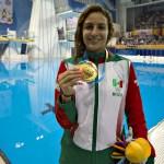 Paola Espinosa responde a críticas de Ernesto D'Alessio y Tatiana Clouthier - Foto de Mexsport
