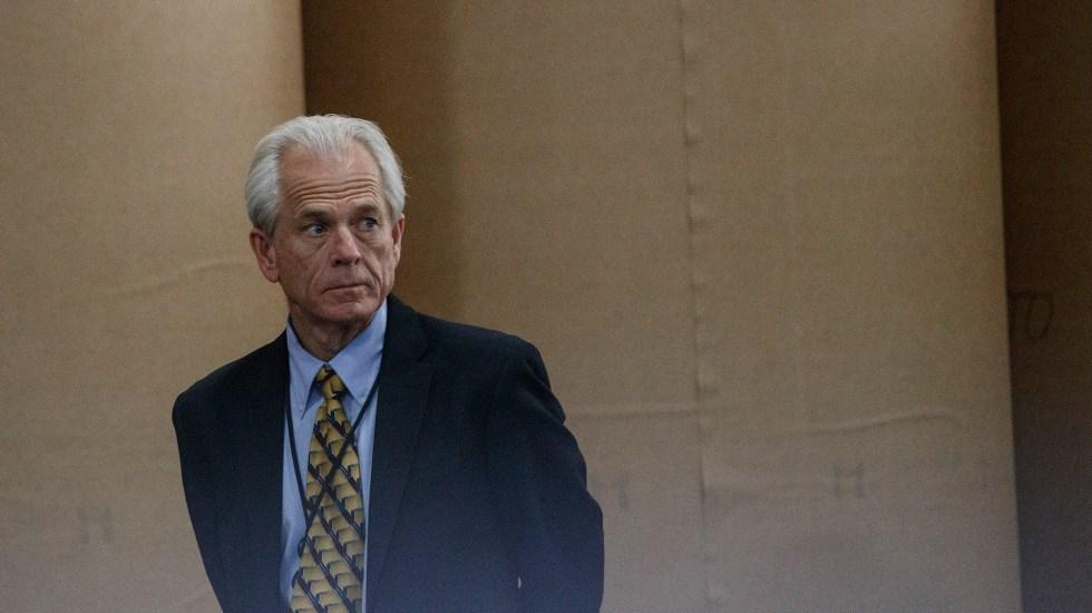 Aranceles podrían no entrar en vigencia: asesor de la Casa Blanca - Peter Navarro. Foto de The New York Times / Tom Brenner