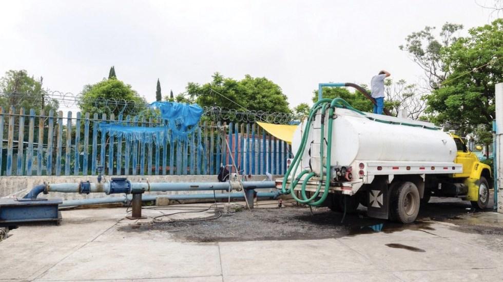 Iztapalapa distribuye más de 5 millones de litros de agua por corte - Foto de @SacmexCDMX