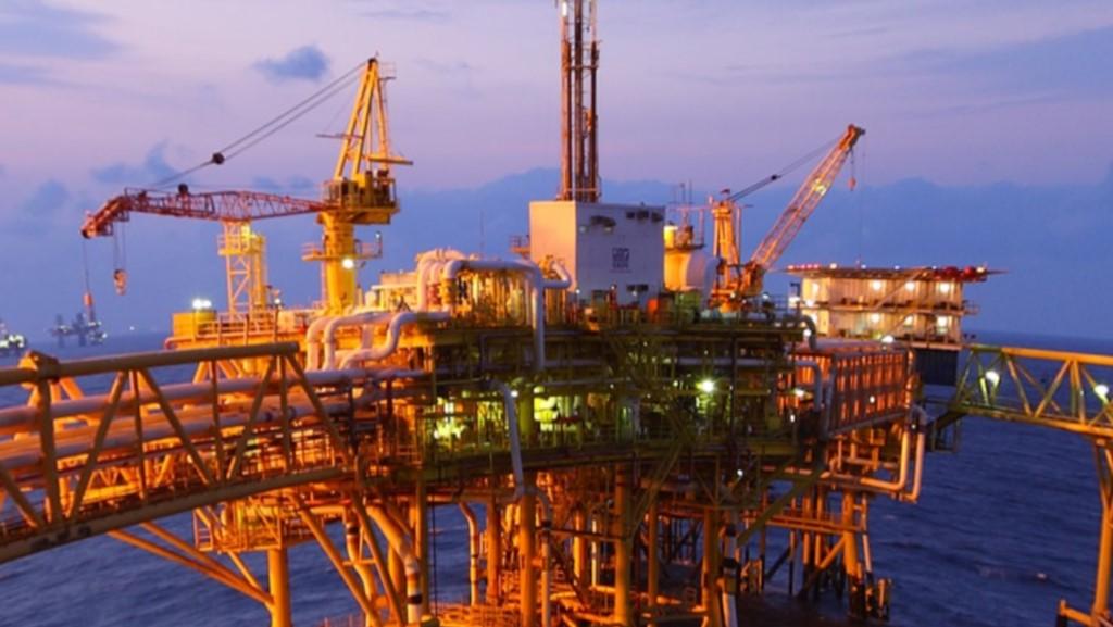 Plataformeros de Pemex evaden controles en Tamaulipas para detectar COVID-19 - Plataforma petrolera. Foto de Pemex