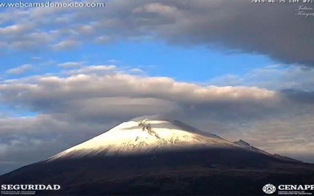El Popocatépetl registra 132 exhalaciones en las últimas 24 horas - actividad volcán popocatépetl