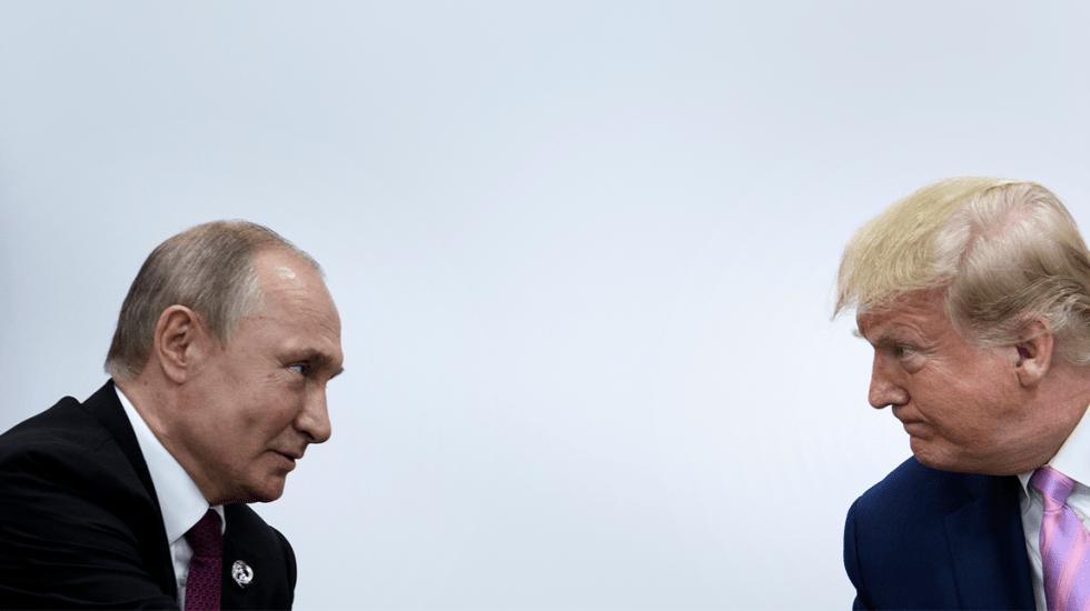 Trump pide a Putin que no interferir en las elecciones de 2020 - Putin Trump