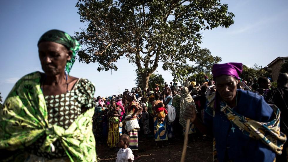 Más de 300 mil han huido de violencia en junio en República Democrática del Congo - Foto de JOHN WESSELS / AFP.