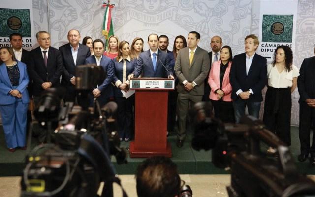 Oposición rechaza revocación de mandato - Foto de Twitter Marko Cortés