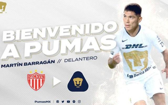 Pumas confirma a Vigón y Barragán como refuerzos para el nuevo torneo - pumas nuevos refuerzos