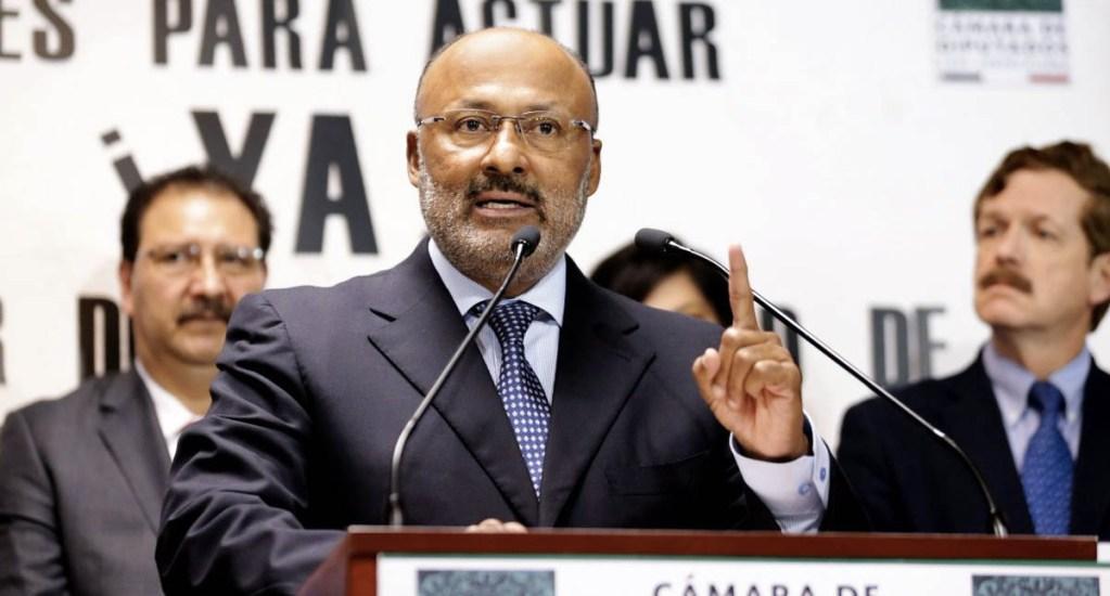 Tienen que respetarse acuerdos; PRI es la tercera fuerza en la Cámara y debe presidir Mesa Directiva: René Juárez - René Juárez Cisneros PRI