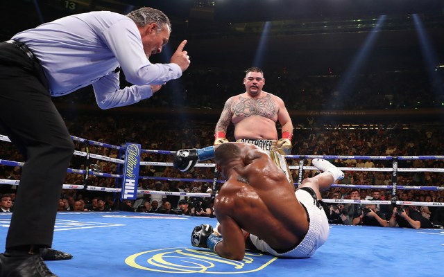 Anthony Joshua activa cláusula de revancha contra Andy Ruiz - revancha andy ruiz anthony joshua