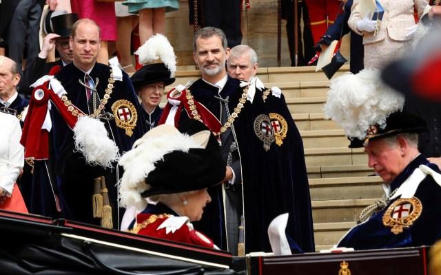 Reino Unido nombra a Felipe VI caballero de la Orden de la Jarretera - rey felipe vi orden jarretera