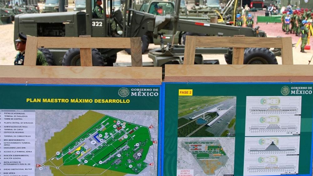 Suspenden obra de Aeropuerto de Santa Lucía - santa lucía